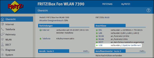 Fritzbox Geräte abmelden