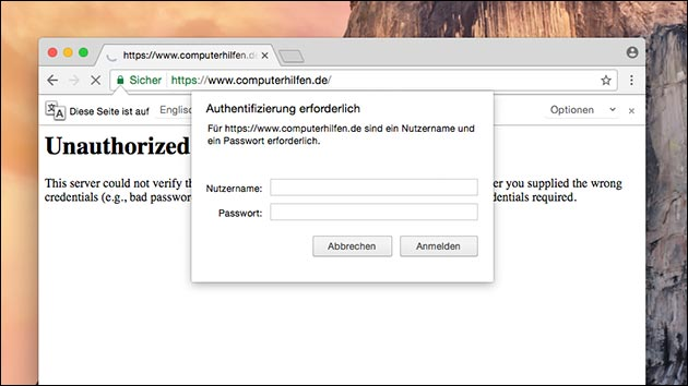 Wordpress absichern: .htaccess Schutz