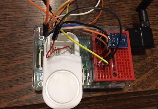 Alarm Sirene Raspberry Pi