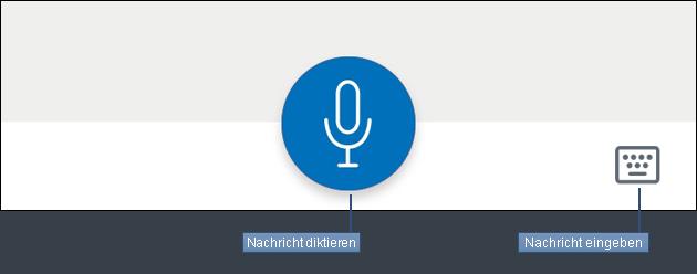 Alexa App Nachrichten eingeben