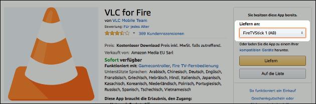 VLC Fire TV