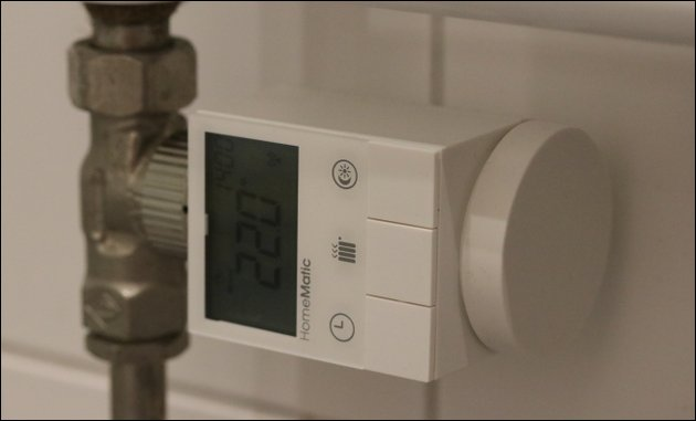 HomeMatic Smart Home Thermostat
