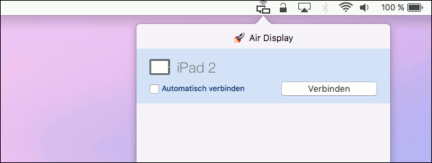 Air Display iPad