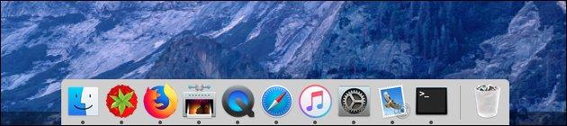 Mac OS Dock