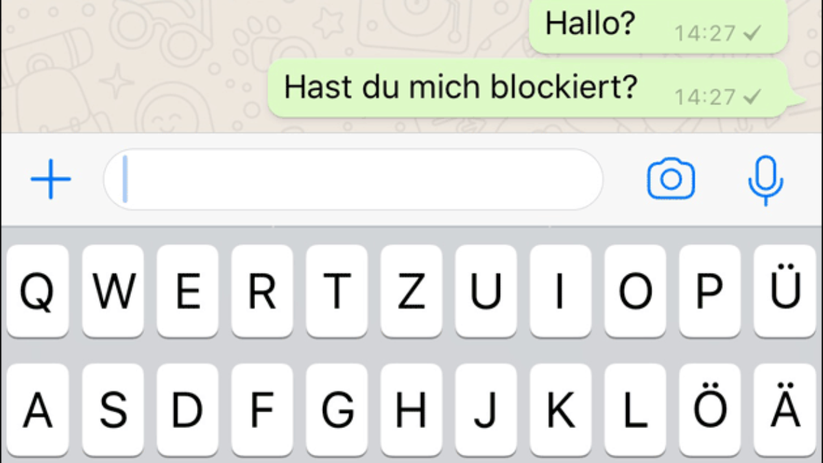 Online bei whatsapp sehen blockiert WhatsApp Status
