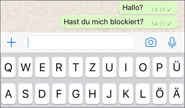 Bei WhatsApp blockiert? Herausfinden!