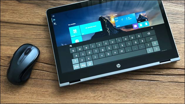 Convertible: Notebook + Tablet