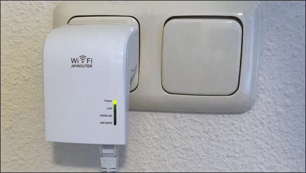 Hotel WLAN mit Wifi Repeater erweitern