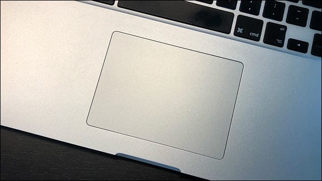 MacBook Trackpad rechte Maustaste