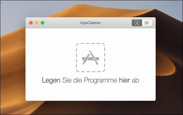 AppCleaner: Programme wie MacKeeper komplett löschen