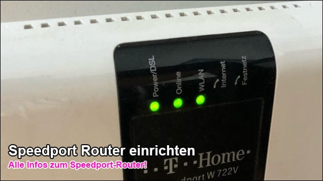 Speedport.ip Router konfigurieren