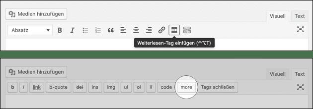 More: WordPress Weiterlesen Tag