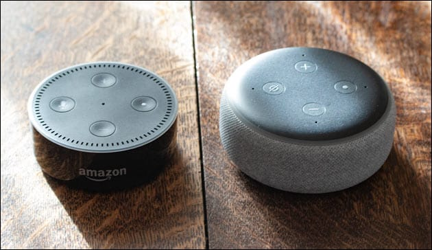 Echo Dot Vergleich