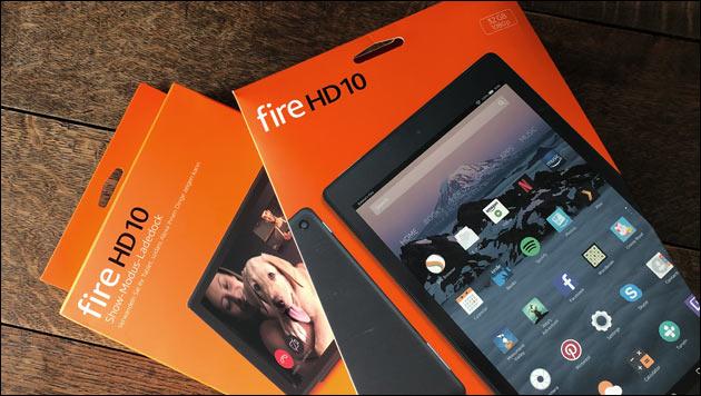 Fire Tablet Lade Dock (Alexa Show Modus)