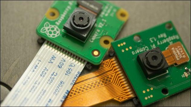 Raspberry Kamera anschließen
