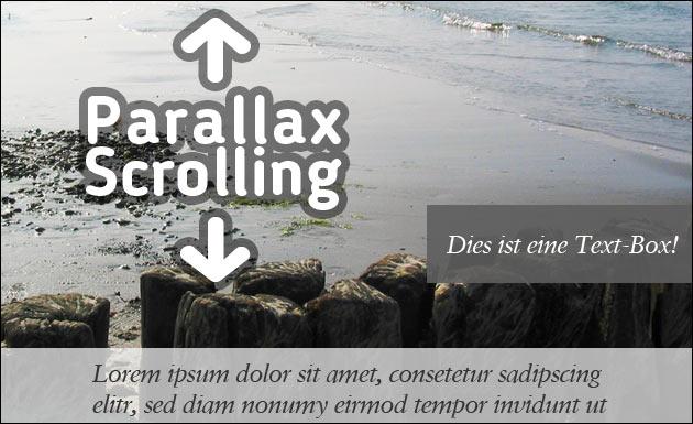 Webmaster: Parallax-Scrolling mit mehreren Ebenen, ohne JQuery!