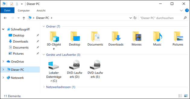 Check Disk mit Windows 10