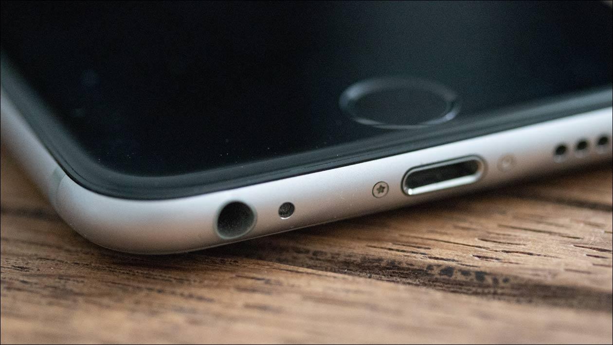 iPhone Lightning Anschluss