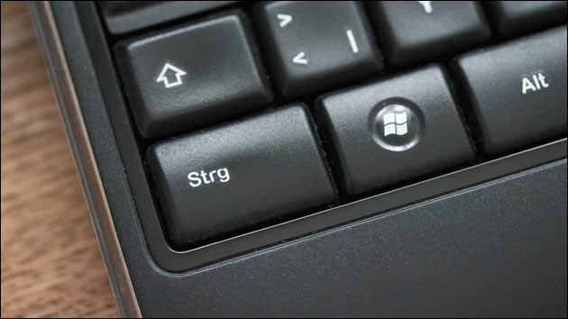 CTRL Taste (STRG) Windows