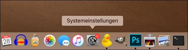 Mac Systemeinstellungen