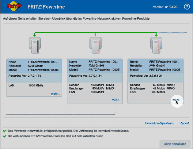 Fritz Powerline Software