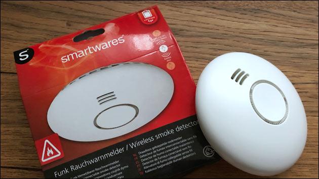 Smartwares Rauchmelder FHEM