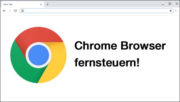 Chrome: Kiosk Mode fernsteuern (URL)