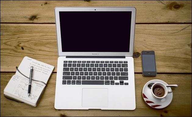 Homeoffice: Laptop