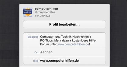 Twitter: computerhilfen