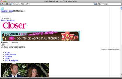 Kate Middleton legt Webseite lahm