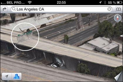 Apple Maps: Los Angeles