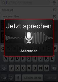 YouTube Sprach-Suche