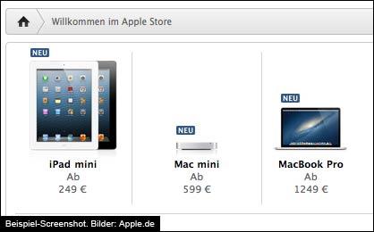 iPad Mini, Mac Mini