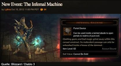 diablo 3 infernal machine