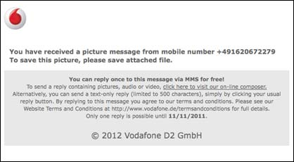 Vodafone Email