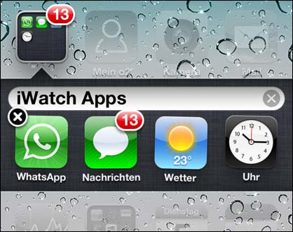 iWatch Apps