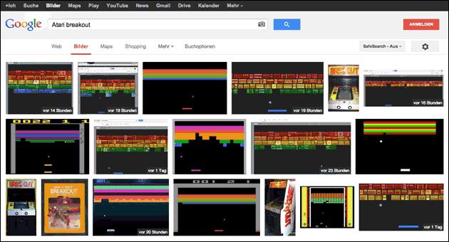 Google Startseiten Spiele