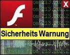 Flash Player Warnung