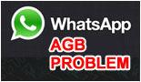 WhatsApp  AGB Problem