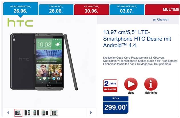 Aldi HTC Desire