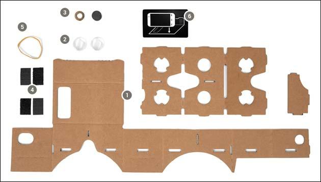 google cardboard deine eigene vr brille aus pappe mit android. Black Bedroom Furniture Sets. Home Design Ideas
