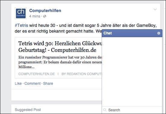 Facebook Chat offline