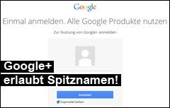 Google Plus Klarname