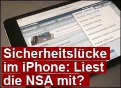 iPhone Sicherheit Apple