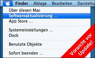 Macbook Air Softwareaktualisierung