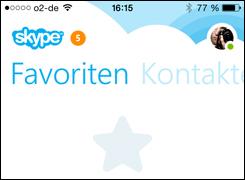 Skype: neue Version iPhone