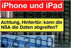 iphone / iPad: NSA?