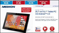 medion lifetab tablet heute bei aldi nord n chste woche. Black Bedroom Furniture Sets. Home Design Ideas