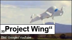 Project Wing Drohne