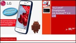 Bei Aldi: Android-Handy im Angebot - LG L50 für 89,99!